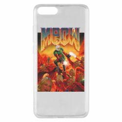 Чехол для Xiaomi Mi Note 3 Meow Doom