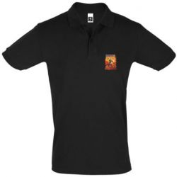 Мужская футболка поло Meow Doom