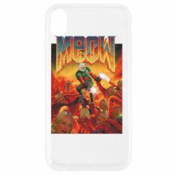 Чехол для iPhone XR Meow Doom