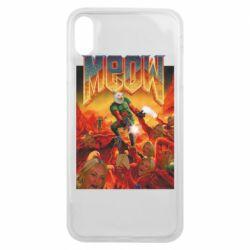 Чехол для iPhone Xs Max Meow Doom