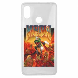 Чехол для Xiaomi Mi Max 3 Meow Doom