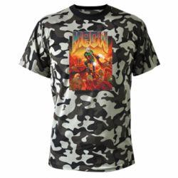 Камуфляжная футболка Meow Doom