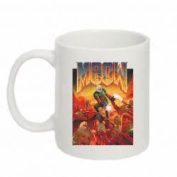 Кружка 320ml Meow Doom