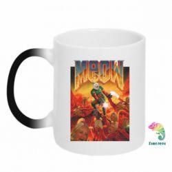 Кружка-хамелеон Meow Doom