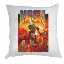Подушка Meow Doom