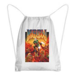 Рюкзак-мешок Meow Doom
