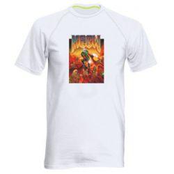 Мужская спортивная футболка Meow Doom