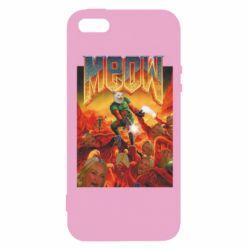 Чехол для iPhone5/5S/SE Meow Doom
