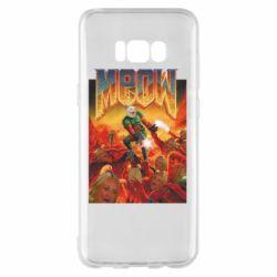 Чехол для Samsung S8+ Meow Doom