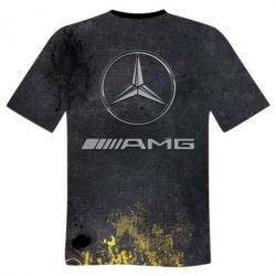 Купить Мужская 3D футболка Mercedes Amg, FatLine