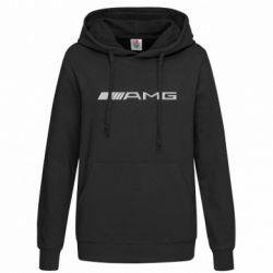 Женская толстовка Mercedes-AMG (металлик) - FatLine