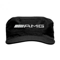 Кепка милитари Mercedes-AMG (металлик) - FatLine
