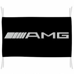 Прапор Mercedes-AMG (металік)