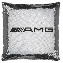 Подушка-хамелеон Mercedes-AMG