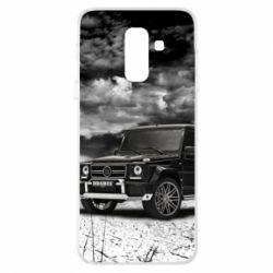 Купить Чехол для Samsung A6+ 2018 Mercedes Benz brabus, FatLine