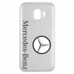 Чехол для Samsung J2 2018 Mercedes-Benz Logo