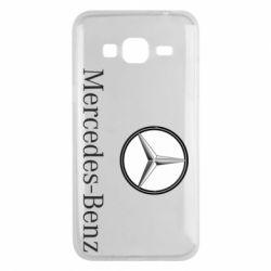 Чехол для Samsung J3 2016 Mercedes-Benz Logo