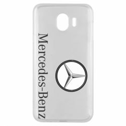 Чехол для Samsung J4 Mercedes-Benz Logo