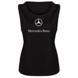 Майка жіноча Mercedes Benz logo