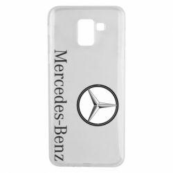 Чехол для Samsung J6 Mercedes-Benz Logo