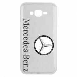 Чехол для Samsung J7 2015 Mercedes-Benz Logo