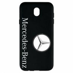 Чехол для Samsung J7 2017 Mercedes-Benz Logo