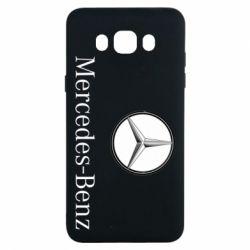 Чехол для Samsung J7 2016 Mercedes-Benz Logo