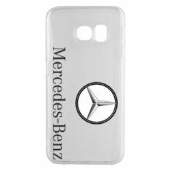 Чехол для Samsung S6 EDGE Mercedes-Benz Logo