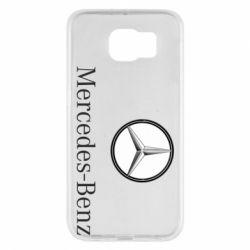 Чехол для Samsung S6 Mercedes-Benz Logo