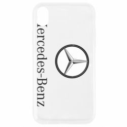 Чехол для iPhone XR Mercedes-Benz Logo