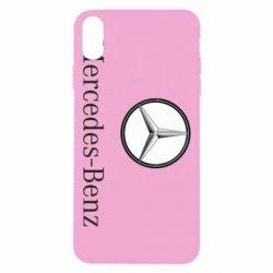 Чехол для iPhone Xs Max Mercedes-Benz Logo