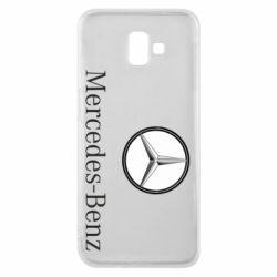 Чехол для Samsung J6 Plus 2018 Mercedes-Benz Logo