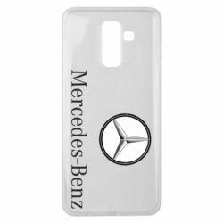 Чехол для Samsung J8 2018 Mercedes-Benz Logo