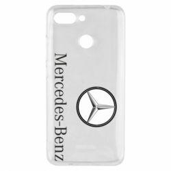 Чехол для Xiaomi Redmi 6 Mercedes-Benz Logo