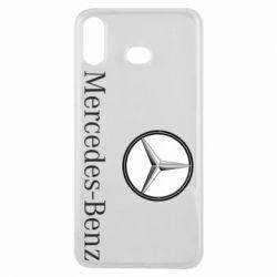 Чехол для Samsung A6s Mercedes-Benz Logo
