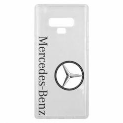 Чехол для Samsung Note 9 Mercedes-Benz Logo