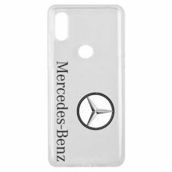 Чехол для Xiaomi Mi Mix 3 Mercedes-Benz Logo