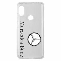 Чехол для Xiaomi Redmi Note 6 Pro Mercedes-Benz Logo
