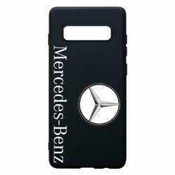 Чехол для Samsung S10+ Mercedes-Benz Logo