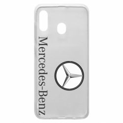Чехол для Samsung A20 Mercedes-Benz Logo