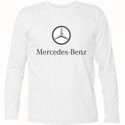 Футболка с длинным рукавом Mercedes-Benz Logo - FatLine