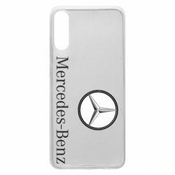 Чехол для Samsung A70 Mercedes-Benz Logo