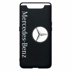 Чехол для Samsung A80 Mercedes-Benz Logo