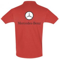 Футболка Поло Mercedes-Benz Logo - FatLine