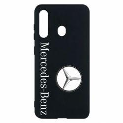 Чехол для Samsung M40 Mercedes-Benz Logo