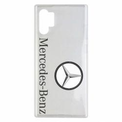 Чехол для Samsung Note 10 Plus Mercedes-Benz Logo