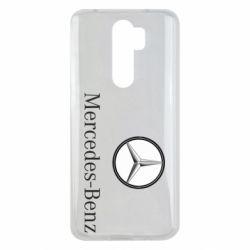 Чехол для Xiaomi Redmi Note 8 Pro Mercedes-Benz Logo