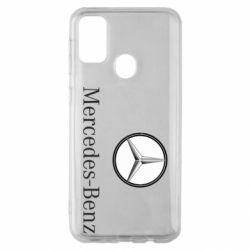 Чехол для Samsung M30s Mercedes-Benz Logo