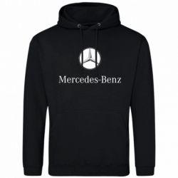 Мужская толстовка Mercedes-Benz Logo - FatLine