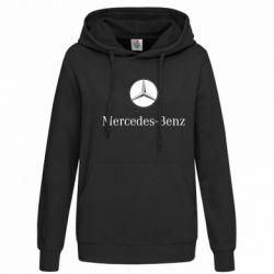 Женская толстовка Mercedes-Benz Logo - FatLine